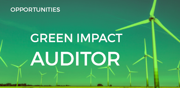 Become a Green Impact Auditor