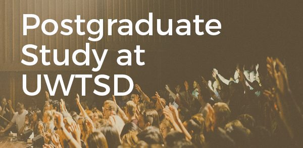 Postgraduate Study at UWTSD