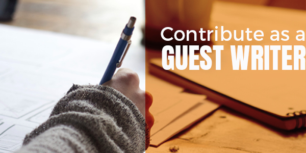 Contribute as a Guest Writer
